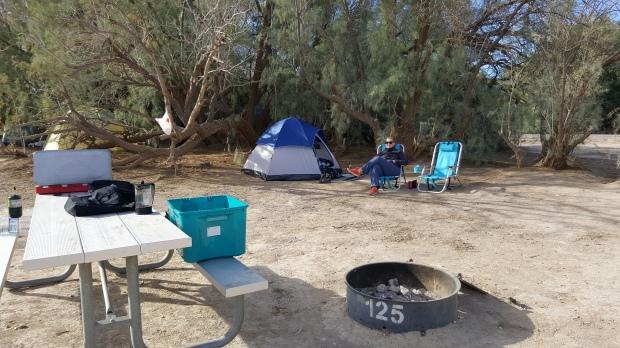 Furnace Creek Campsite 125